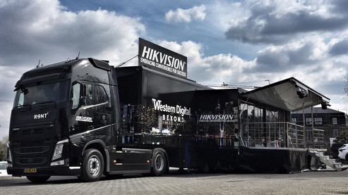 Hikvision Promotion Truck