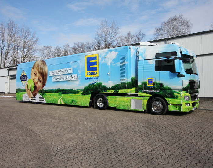 EDEKA – Roadshow startet auf Innovationsmesse in Karlsruhe