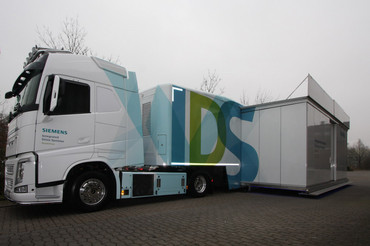 Siemens Showtruck Rainbow Promotion