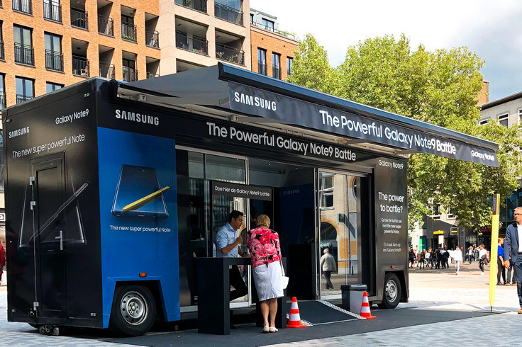 Samsung mobile Pop Up-Store Event, Roadshow