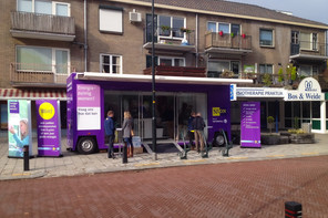 NUON Showroom, mobile pop up-store