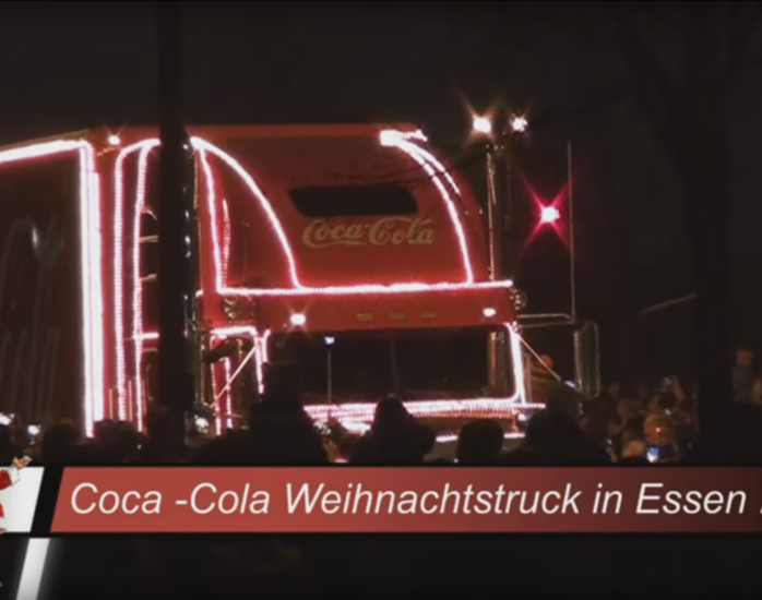 Der Coca Cola Tourauftakt im Video
