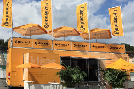 Continental bei der Formula Student Germany