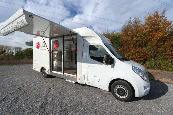 LG Solar Europe Showtruck