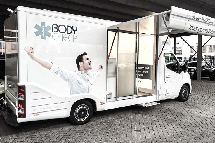 Infowheels Medical BodyScan Promotion