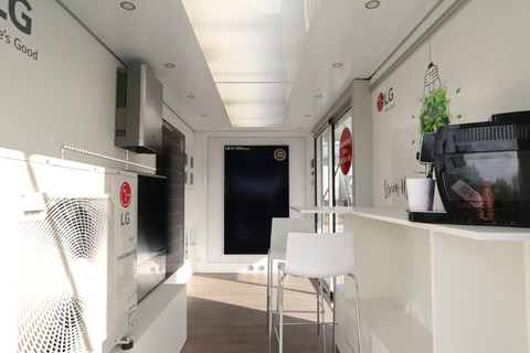 Interior Showroom LG Solar